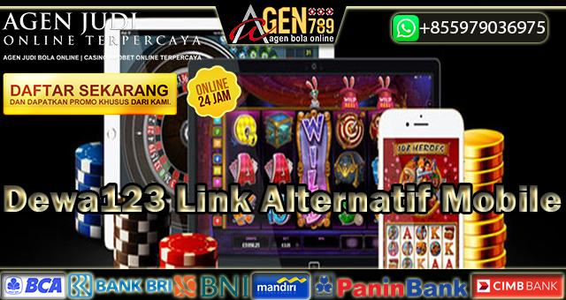 Dewa123 Link Alternatif Mobile